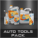 Auto Tools Pack Mock-Up - GraphicRiver Item for Sale