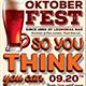 Oktoberfest Flyer Template V9 - GraphicRiver Item for Sale