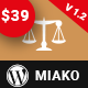 Miako - Lawyer & Law Firm WordPress Theme - ThemeForest Item for Sale