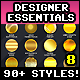 Designer Essentials Ultimate Precious Styles Vol.8 - GraphicRiver Item for Sale