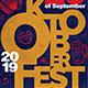 Oktoberfest Flyer Template V8 - GraphicRiver Item for Sale