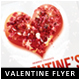 Rosen Heart Valentine Flyer - GraphicRiver Item for Sale