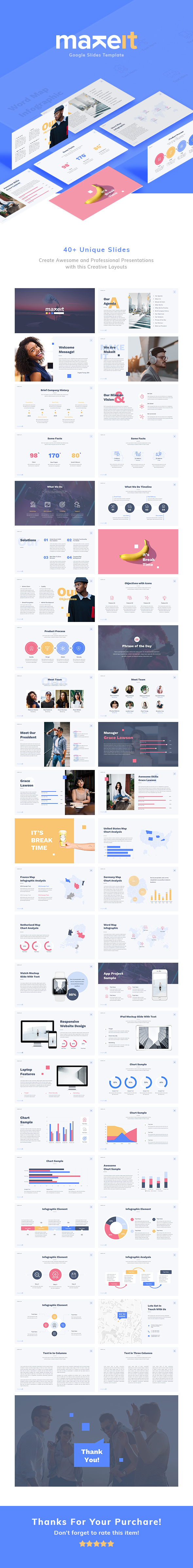 Makeit - Google Slides Presentation Template - Google Slides Presentation Templates