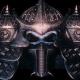 Samurai Head Helmet VJ Loop - VideoHive Item for Sale