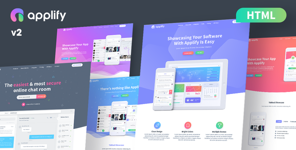 Image of Applify - App Landing Page HTML