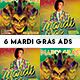Mardi Gras Instagram - GraphicRiver Item for Sale