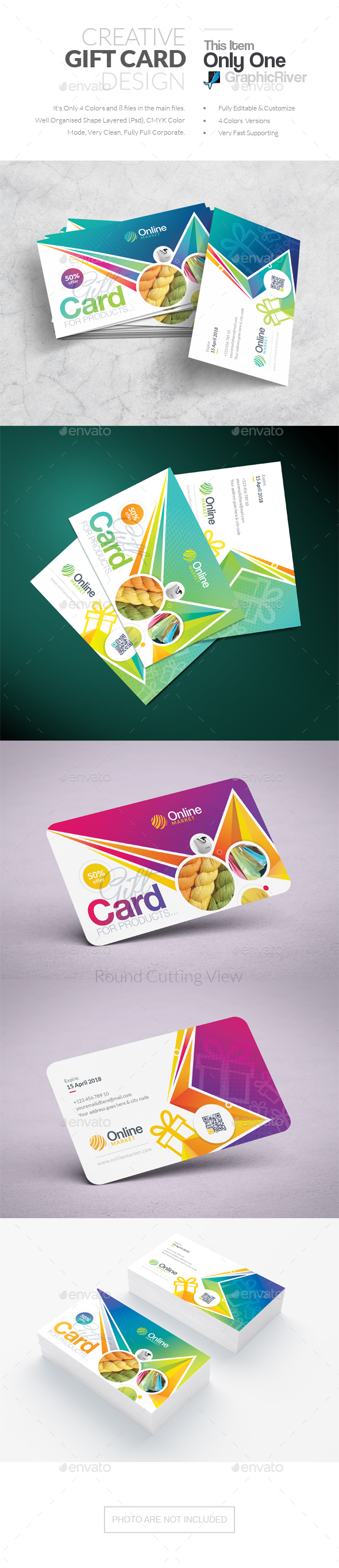 Gift Card - Cards & Invites Print Templates