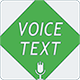 Voice Text - Android Studio (Java) + AdMob - CodeCanyon Item for Sale