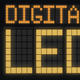 Digital Led Font - VideoHive Item for Sale