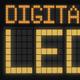 Digital Led Font - VideoHive Item for Sale