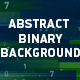 Abstract Binary Background - VideoHive Item for Sale