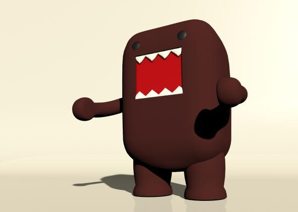 Domo Figure - 3DOcean Item for Sale