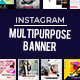 Small Business Multipurpose Instagram Banners - GraphicRiver Item for Sale