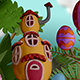 Clay Easter Egg Transition - VideoHive Item for Sale