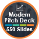 Modern Pitch Deck 2018 Bundle