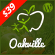 Oakville - Organic Food, Agriculture, Farm Services and Beauty Products WP Theme
