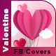 Valentines Day facebook Covers - GraphicRiver Item for Sale