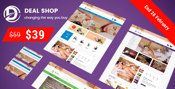 Deal Shop - Health & Beauty Responsive Prestashop 1.7 Theme