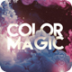 Color Magic Party Poster / Flyer - GraphicRiver Item for Sale