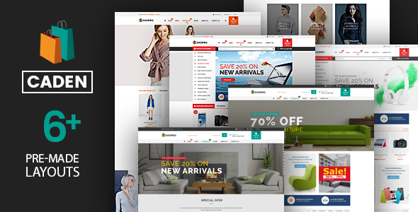 Image of Caden - Mega Store Responsive WordPress Theme