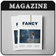 FANCY Fashion Minimal Magazine / Lookbook V08 - GraphicRiver Item for Sale