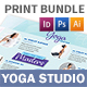 Yoga Studio Print Bundle 3 - GraphicRiver Item for Sale