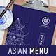 Asian Menu Template