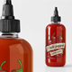 Sauce Bottle Mockup Template