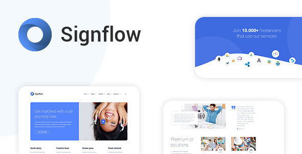 Signflow - Ultra Modern Tech Template