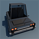 Low Poly Car || Model TE-055 - 3DOcean Item for Sale