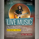 Live Music Concert Flyer / Poster - GraphicRiver Item for Sale