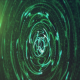 Broadcast Futuristic Green Particles - VideoHive Item for Sale