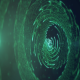 Green Sci Fi Particles - VideoHive Item for Sale