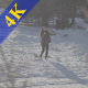 Woman in Snow - VideoHive Item for Sale