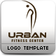 Urban Fitness Centre Logo Template
