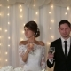 Newlyweds Hold Champagne in Their Hands - VideoHive Item for Sale