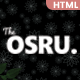 OSRU - News, Blog & Magazine HTML Template - ThemeForest Item for Sale