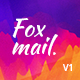 Fox mail - Responsive Email Template Minimal