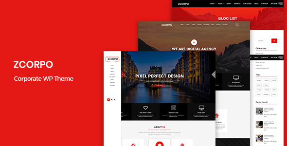 zcorpo - corporate wp theme (corporate) ZCorpo – Corporate WP Theme (Corporate) Preview
