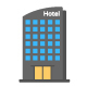 180 Hotel and Restaurant Flat Icons