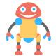 100 Robotics Flat Icons - GraphicRiver Item for Sale
