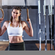 Sporty athletic woman in crossfit gym - PhotoDune Item for Sale