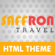 Saffron Travel - ThemeForest Item for Sale