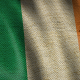 Burlap Flag of Ireland - VideoHive Item for Sale