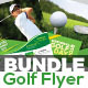Golf Tournament Flyers Bundle - GraphicRiver Item for Sale