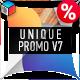 Unique Promo v7 - VideoHive Item for Sale