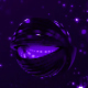 Falling Purple Spheres Loop - VideoHive Item for Sale