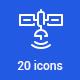 20 Communication icons