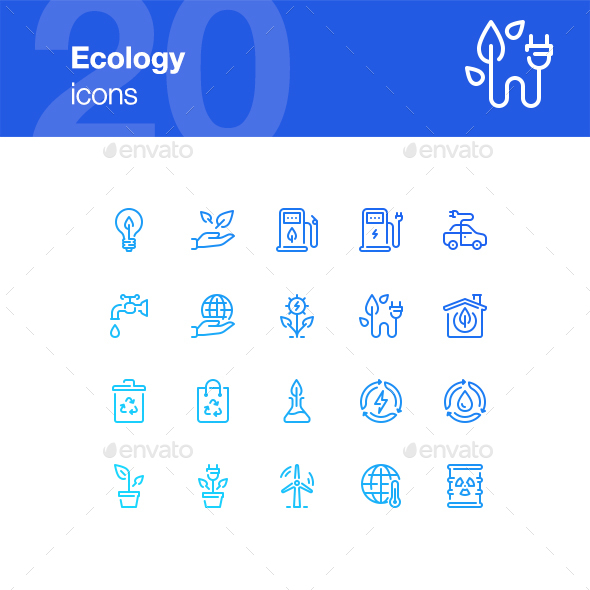 20 Ecology icons - Miscellaneous Icons