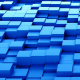 Blue Cubes Background Loopable - VideoHive Item for Sale